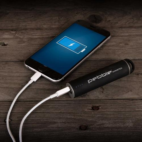 Veho Pebble Ministick 1A 2200mAh Portable Power Bank - Black