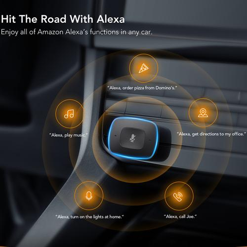 ROAV by Anker Viva 2.4A 2 Port USB Car Charger - Alexa Enabled