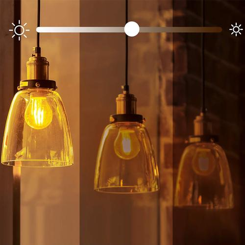 TP-Link KL50 Smart WiFi Filament Light Bulb Dimmable E27, 7W A++ - Warm White