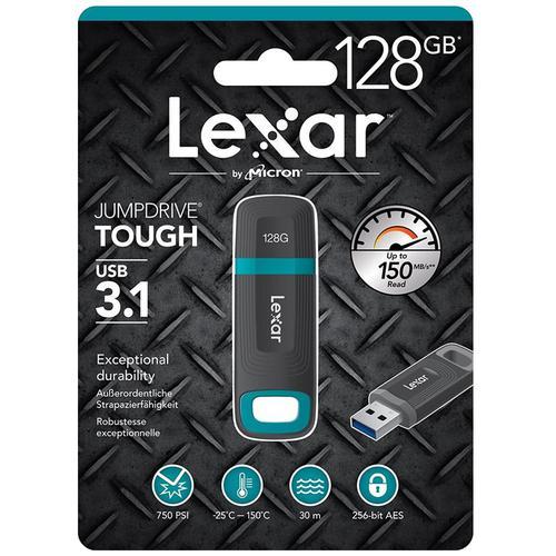 Lexar 128GB JumpDrive Tough USB 3.1 Flash Drive