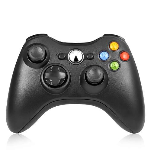Xbox 360 Official Wireless Controller - Black (Refurbished)