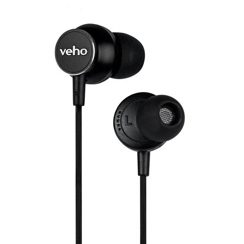 Veho Z3 In-Ear Headphones - Black