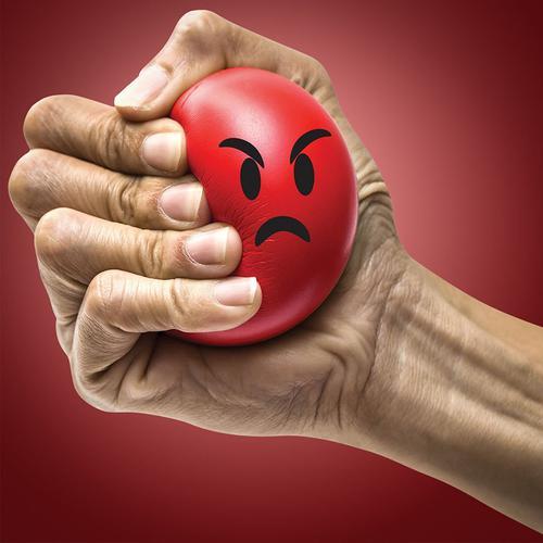 Stress Head Stress Ball
