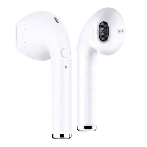 i9s TWS Wireless Stereo Bluetooth Earphones with integrated Microphone - White