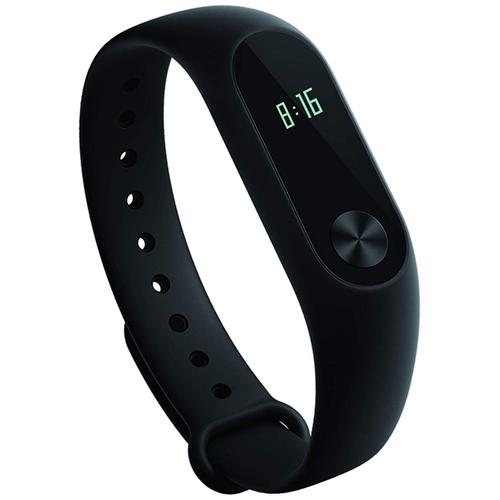 Xiaomi Mi Band 2 Smart Fitness Tracker With OLED Screen & Heart Rate Sensor - Black