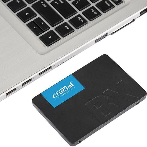 """Crucial 120GB BX500 Internal 2.5"""" SATA  SSD Drive - 540MB/s"""