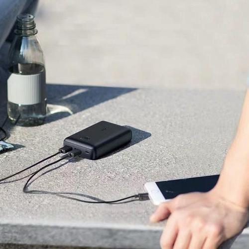 Anker PowerCore Select 12W 10000mAh Portable Power Bank with PowerIQ - Black