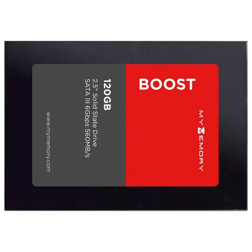 "MyMemory Boost Internal SSD Drive 2.5"" SATA III 120GB - 560MB/s"