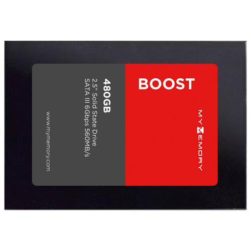 "MyMemory Boost Internal SSD Drive 2.5"" SATA III 480GB - 560MB/s"