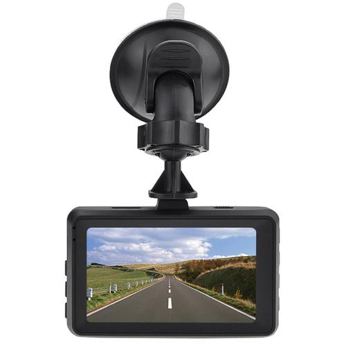 oneo Drive 1080p Car Dash Cam Dual Lens + Rear Camera - Black