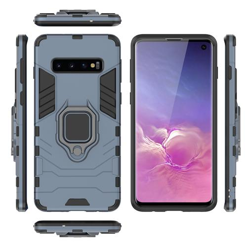 oneo ARMOUR Grip Samsung Galaxy S10 Protective Case - Navy Blue