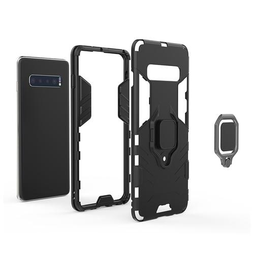 oneo ARMOUR Grip Samsung Galaxy S10 Plus Protective Case - Black