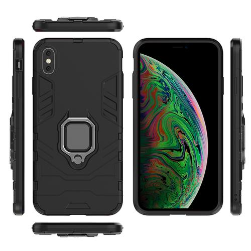 oneo ARMOUR Grip iPhone XS Max Protective Case - Black