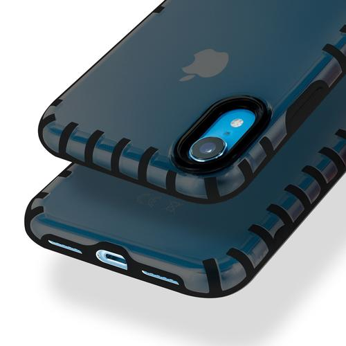 oneo VISION iPhone XR Transparent Case - Dark Grey