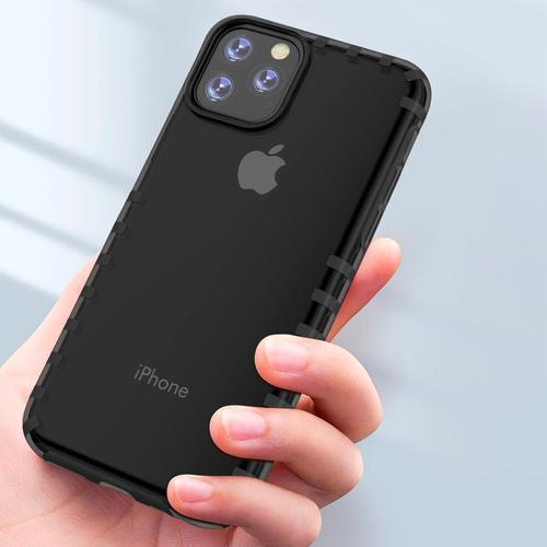 oneo VISION iPhone 11 Transparent Case - Dark Grey