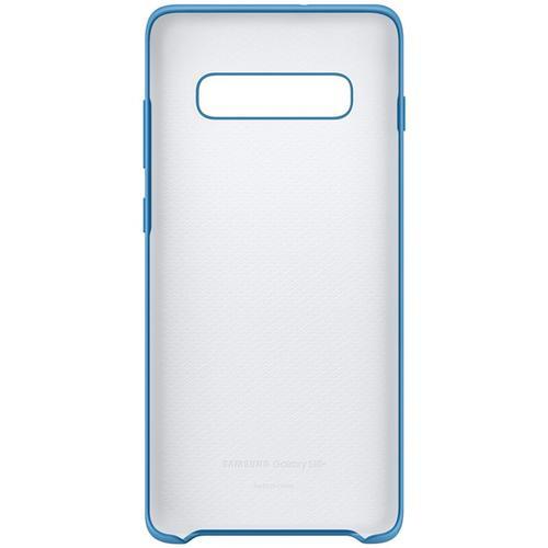 Samsung Galaxy S10 Silicone Cover Case - Blue
