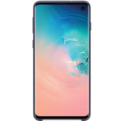 Samsung Galaxy S10 Silicone Cover Case - Navy Blue
