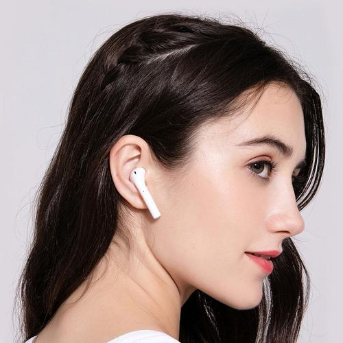 i99 TWS Bluetooth 5.0 Wireless Stereo EarPods with Touch Control - White
