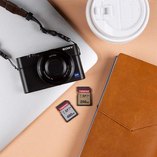 Transcend 256GB 300S V30 SD Card (SDXC) UHS-I U3 - 95MB/s