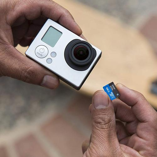 Lexar 256GB High Performance Micro SD Card (SDXC) UHS-I U3 + Adapter - 95MB/s