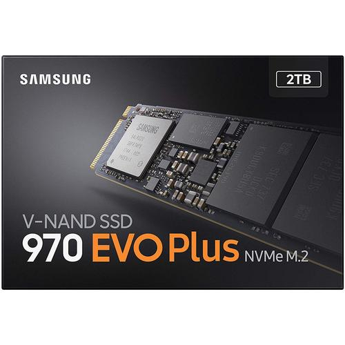 Samsung 2TB 970 Evo Plus PCI Express M.2 NVMe V-Nand SSD Drive Internal Hard Drive - 3500MB/s