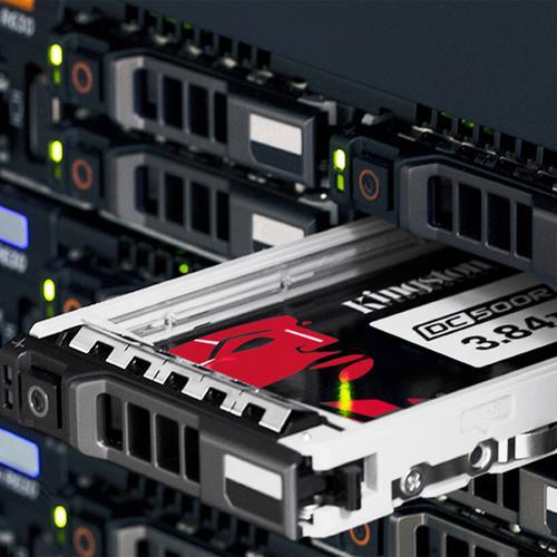 Kingston 3.84TB Data Center DC500R Enterprise SSD Drive - 555MB/s