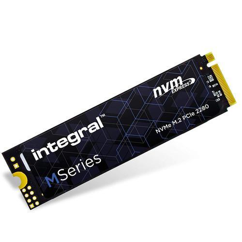 Integral 256GB M Series M.2 2280 PCIE NVMe Internal SSD - 2000MB/s