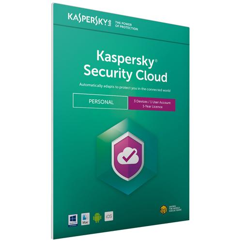 Kaspersky Security Cloud - Personal (3 Devices, 1 Year) FFP