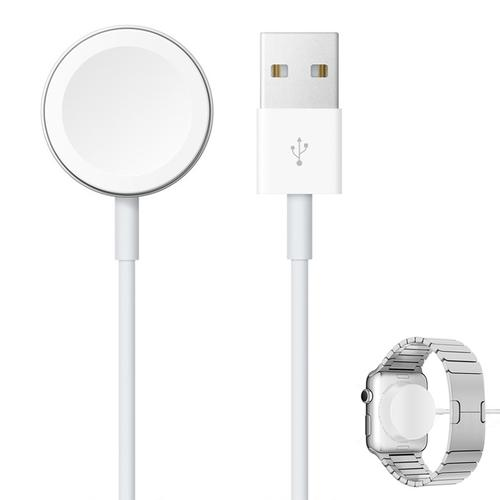 Apple 5W Travel Charger + Magnetic Charging Cable for Watch - White