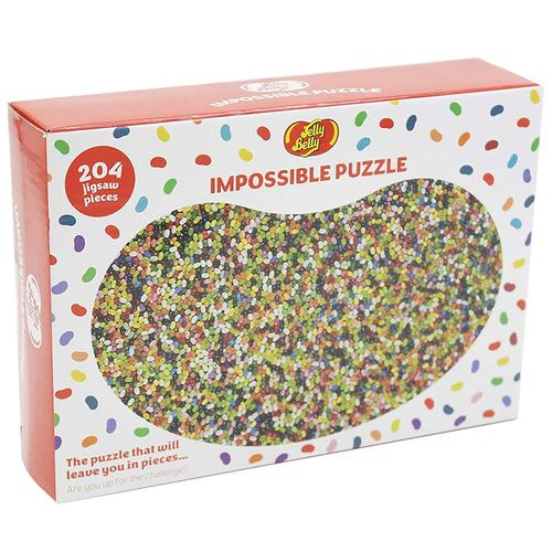 Jelly Belly 204 Piece Impossible Jigsaw Puzzle