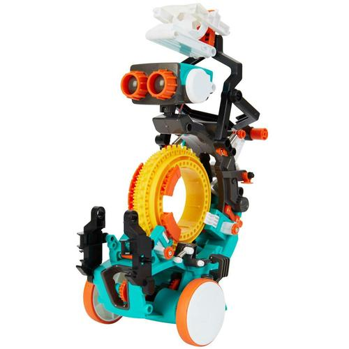 Construct And Create 5-in-1 Mechanical Coding Robot
