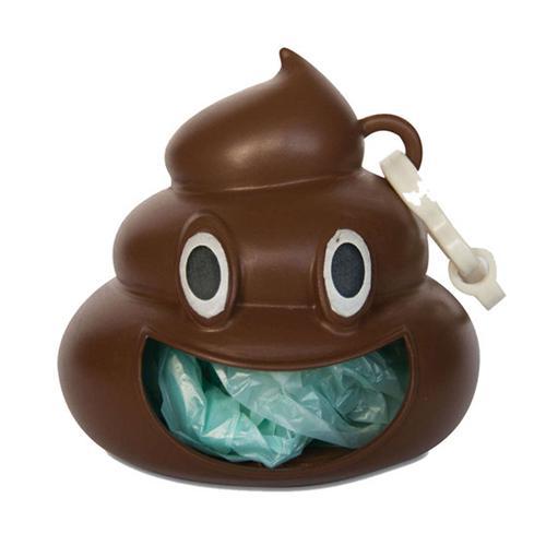 Emoji Poo - Dog Waste Bag Holder