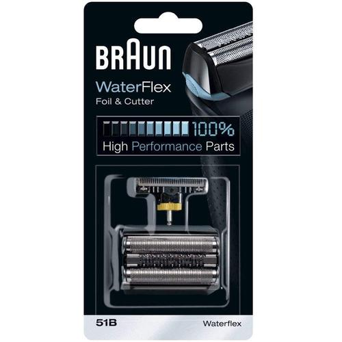 Braun 51B Waterflex Series Replacement Foil and Cutter Pack  - Black