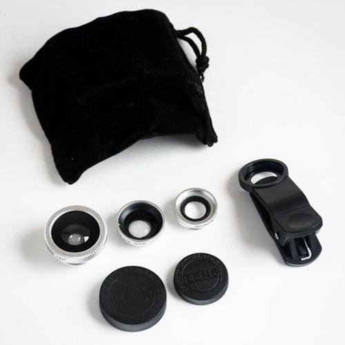 RED5 Essentials - 3 in 1 Mobile Camera Clip Lens Kit