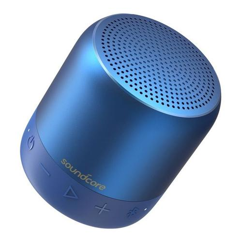 Anker SoundCore Mini 2 Wireless Bluetooth Portable Waterproof Speaker - Blue