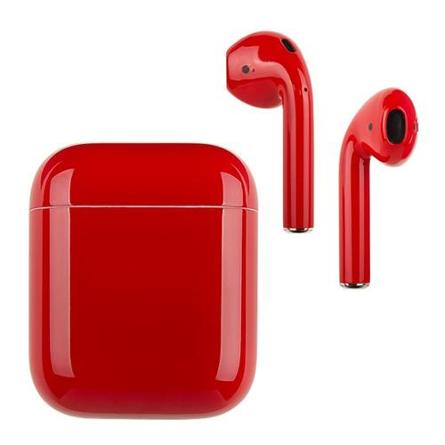 i9s TWS Bluetooth 5.0 Wireless Stereo EarPods with Microphone - Red