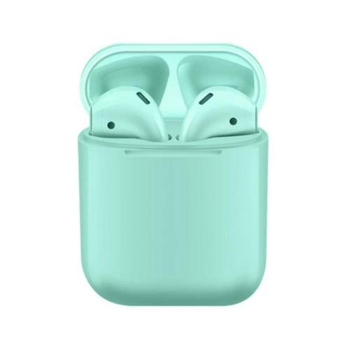 i9s TWS Bluetooth 5.0 Wireless Stereo EarPods with Microphone - Turquoise