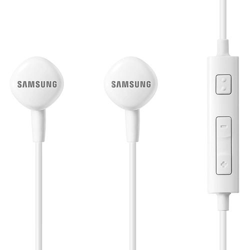 Samsung EO-HS130 Ergonomic In Ear Headhones with Remote and Mic - White
