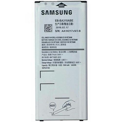 Samsung Battery for Galaxy A3 (2016 Model) - 2300mAh