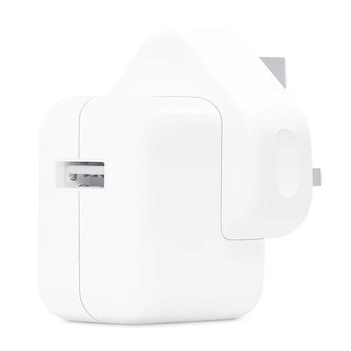 Apple 12W 2.4A iPad Charging Adapter + Lightning Cable