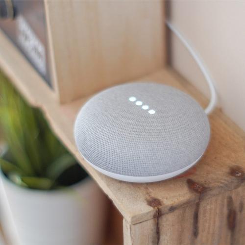 Google Nest Mini 2nd Generation - Chalk