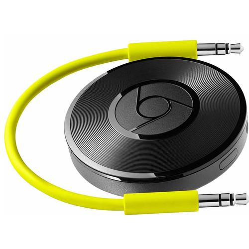Google Chromecast Audio + USB Mains Plug - Refurbished FFP