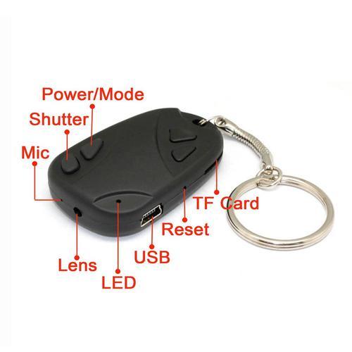 Car Keys Micro-Camera