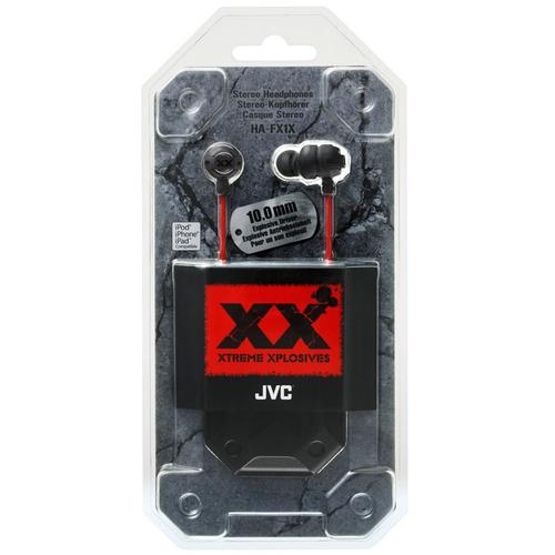 JVC Xtreme Xplosives In-Ear Canal Headphones (HA-FX1X)