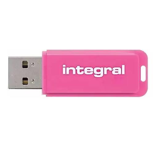Integral 8GB Neon USB Flash Drives - 5 Pack FFP