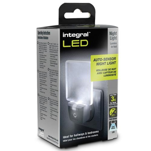 Integral LED Auto Sensor Energy Saving Night Light