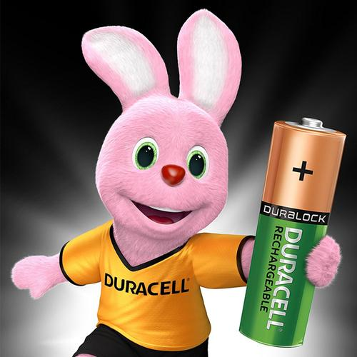 Duracell StayCharged 1300mAh AA Rechargeable Batteries - 4 Pack