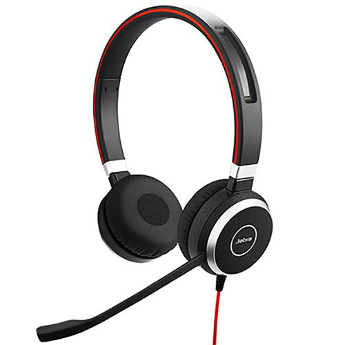 Jabra Evolve 40 UC Corded Stereo Headset with Microphone