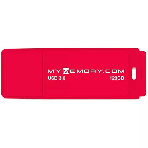 MyMemory 128GB 3.0 USB Flash-Laufwerk - Rot - 200MB/s