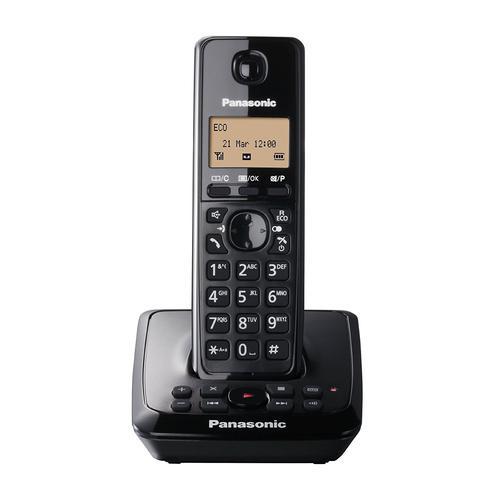 Panasonic Single DECT Cordless Phone with Answer Machine (KX-TG2721EB)